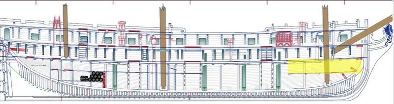 Mahonesa frégate- 34 canons1789 à 1:32 par A. Sorolla plans de Fermin Urtizberea - Page 3 Ma171122