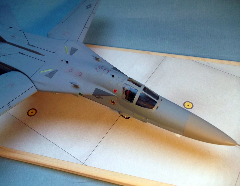 [Monogram] EF 111 Raven - Le corbeau de l'USAF au 1/72 Dscf7143