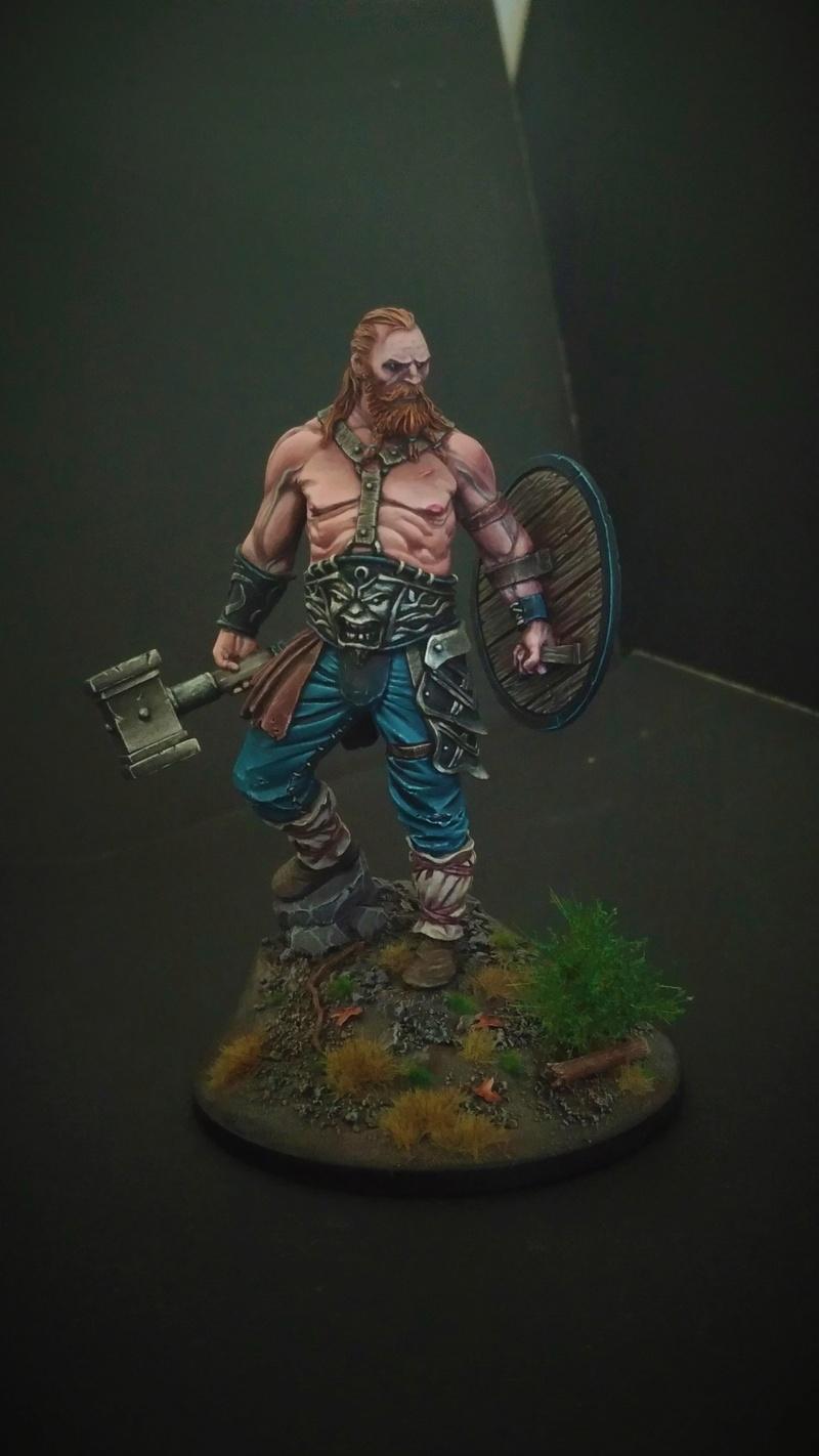 [Black Sun Miniature] Old Barbarian P_201816
