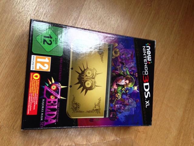 (VDS) Console 3DS Zelda Majora's mask / Zelda OOT 3D blister 34035913