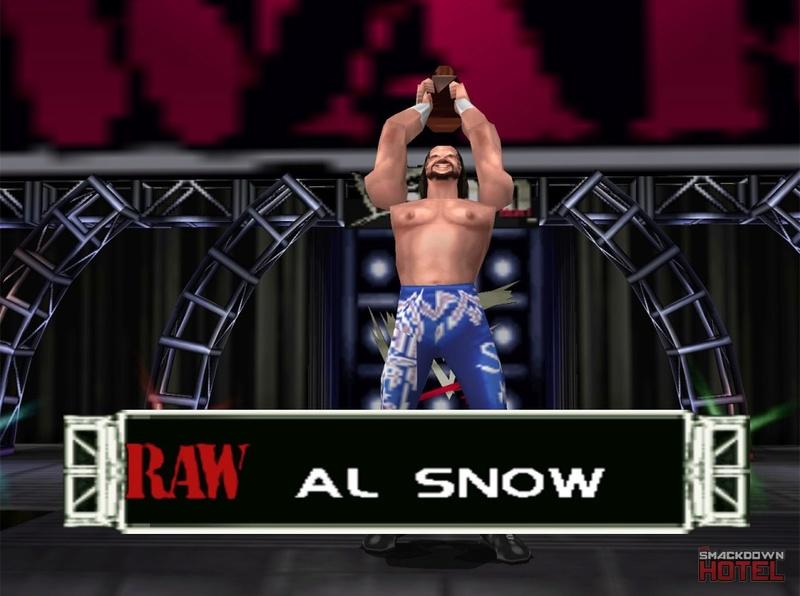 === Al Snow === Wwf_no10
