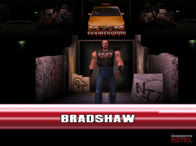 === Bradshaw === Wwf_no14