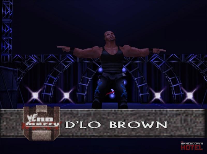 === D'Lo Brown === Wwf_no22
