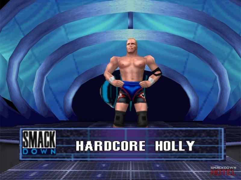 === Hardcore Holly === Wwf_no32