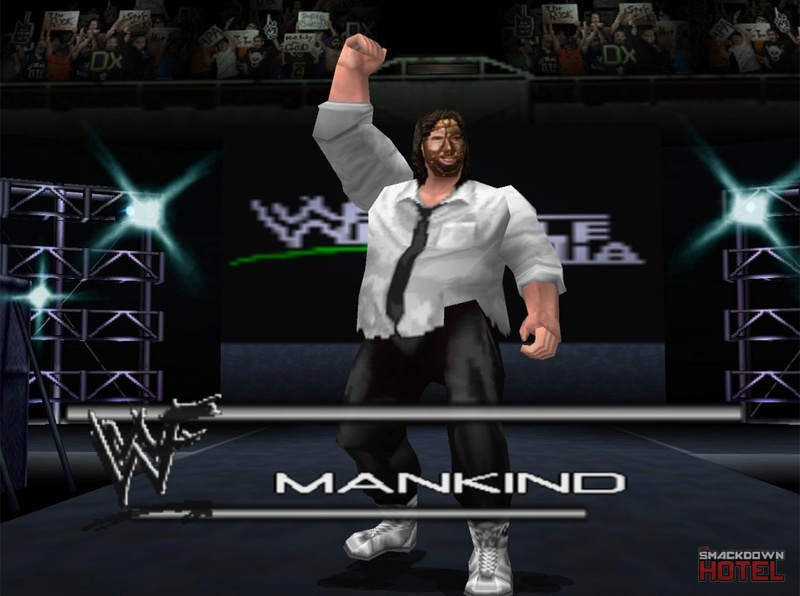 === Mankind === Wwf_no36
