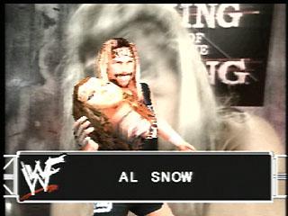 === Al Snow === Wwf_sm29