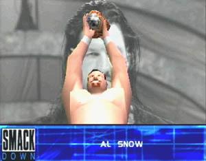 === Al Snow === Wwf_sm46