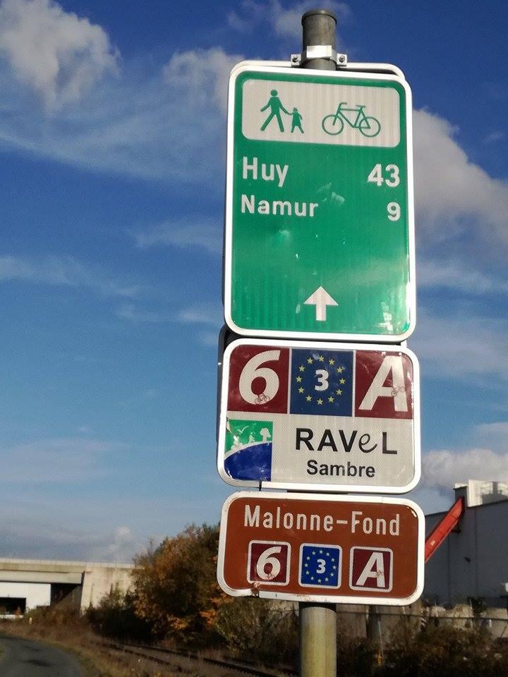 RAVeL 1 Centre (Part 5b) Tamines - Namur - Eurovelo 3 - Itinéraire n°6 - Page 4 23666411