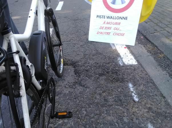 2018-05-03 Nouvelle piste cyclable wallonne à mourir de rire… ou d'autre chose Image025