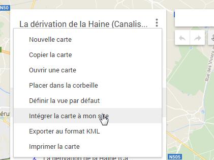 """Comment intégrer une """"google Maps"""" dans un message ? Screen11"""
