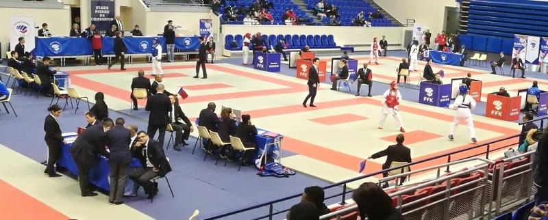 Championnat Ile de France Combat mars 2018 Alexandre en Argent Img_2076