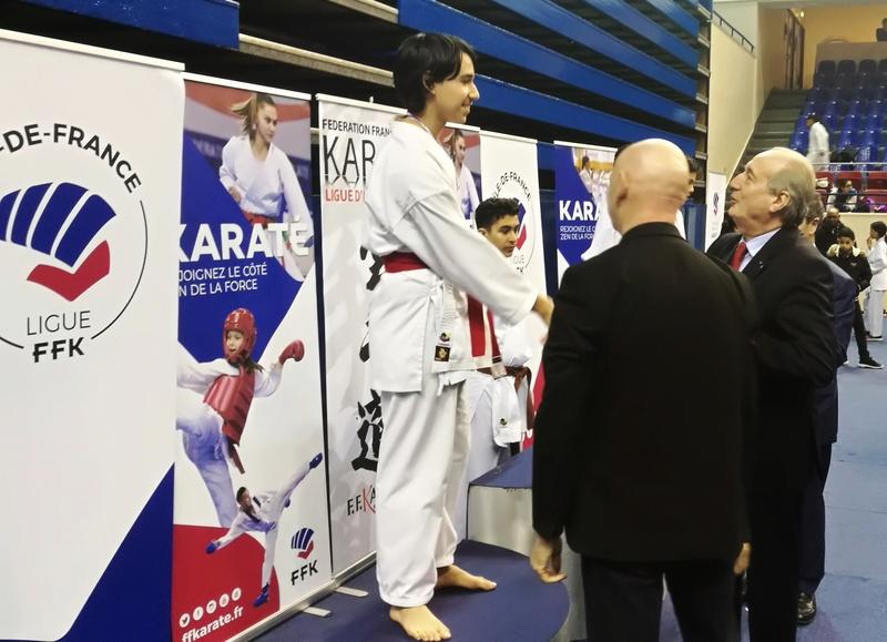 Championnat Ile de France Combat mars 2018 Alexandre en Argent Img_2077