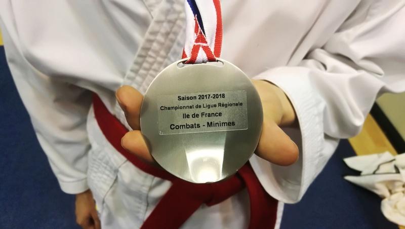 Championnat Ile de France Combat mars 2018 Alexandre en Argent Img_2078