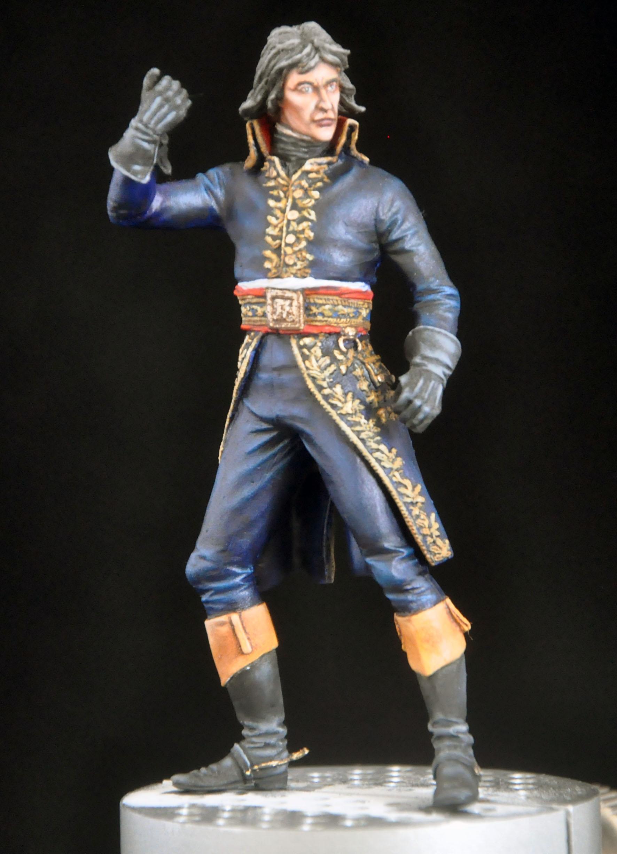 Bonaparte à Arcole- 75 mm Atelier Maket- Photos finales Dsc_0059
