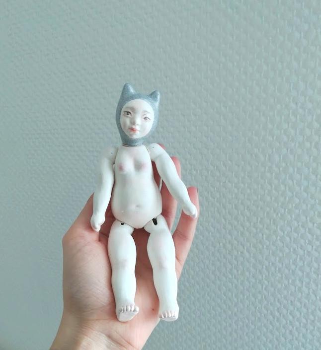 [vente] petite poupée 5 articulations céramique Img_2015