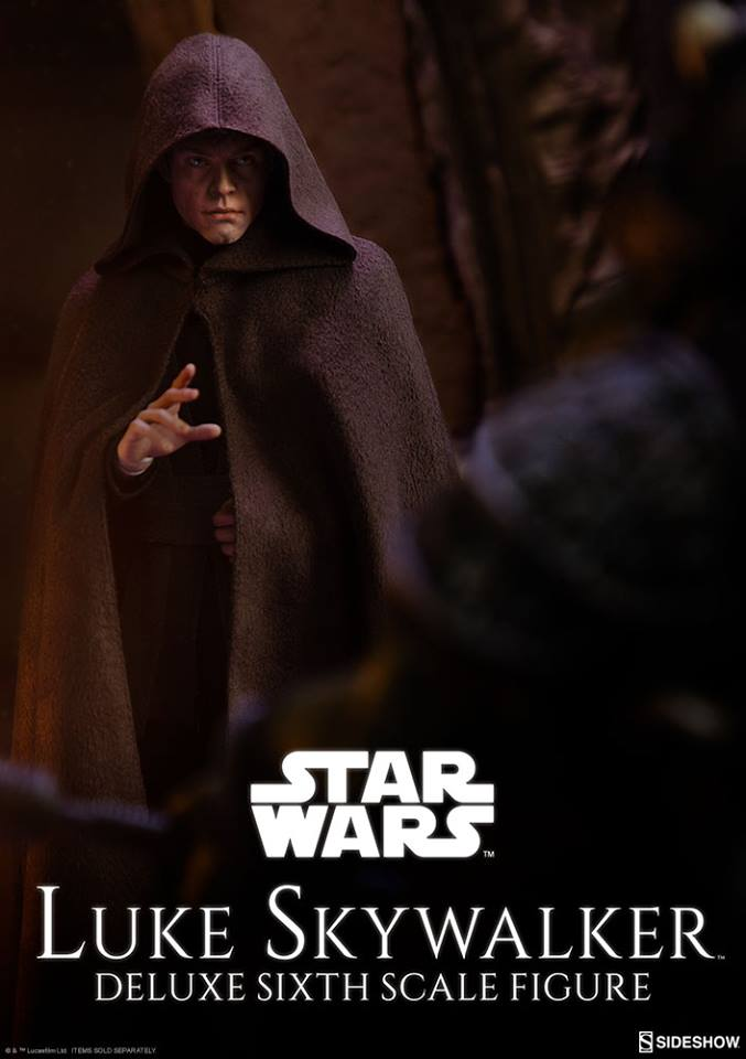 Sideshow Collectibles- Luke Skywalker ROTJ Deluxe 1/6 figure 26906910