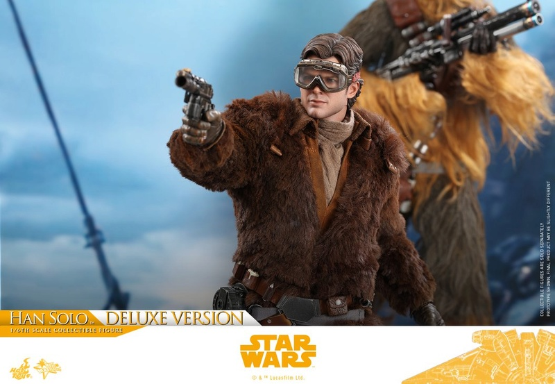 Hot Toys Solo: A SW Story 1/6th Scale Han Solo Deluxe  33176610