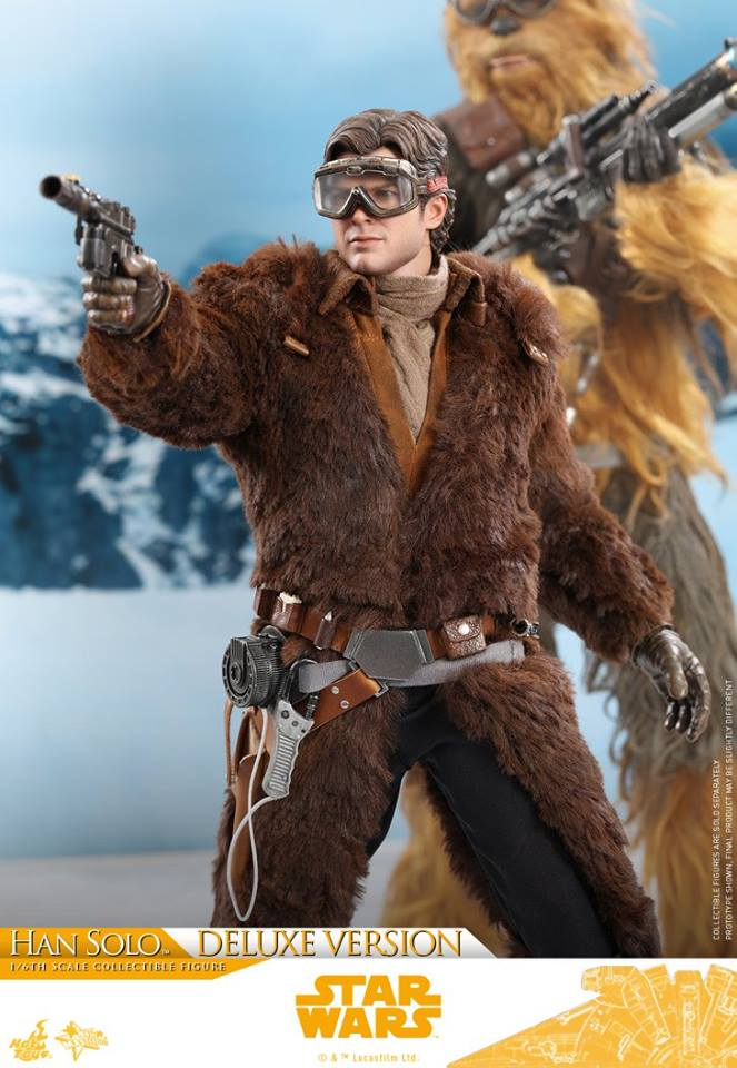 Hot Toys Solo: A SW Story 1/6th Scale Han Solo Deluxe  33227910