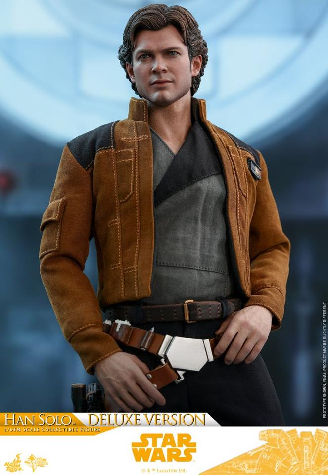 Hot Toys Solo: A SW Story 1/6th Scale Han Solo Deluxe  33245610