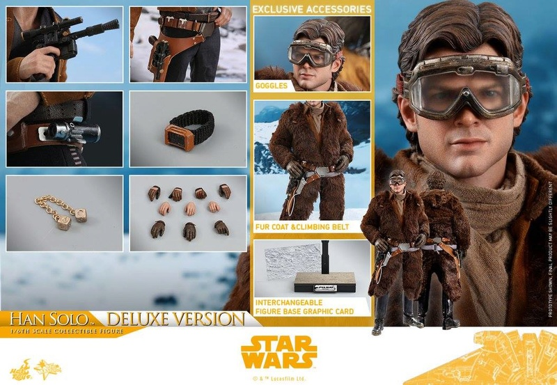 Hot Toys Solo: A SW Story 1/6th Scale Han Solo Deluxe  33301610