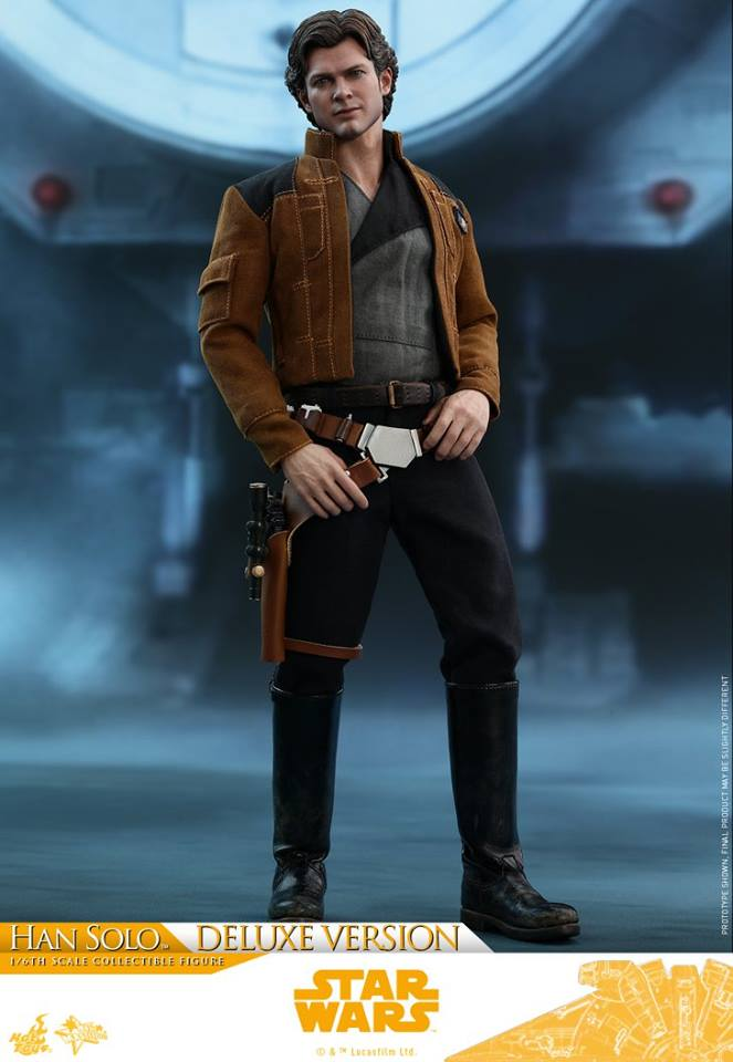 Hot Toys Solo: A SW Story 1/6th Scale Han Solo Deluxe  33303210