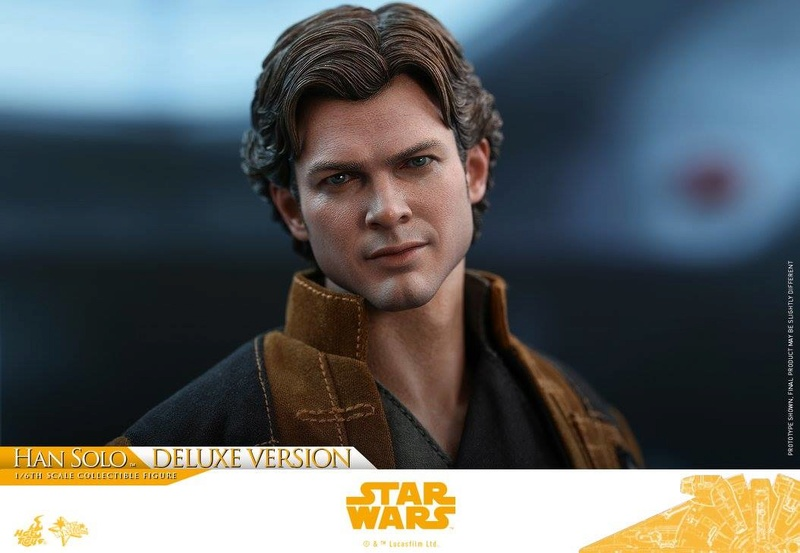Hot Toys Solo: A SW Story 1/6th Scale Han Solo Deluxe  33379010