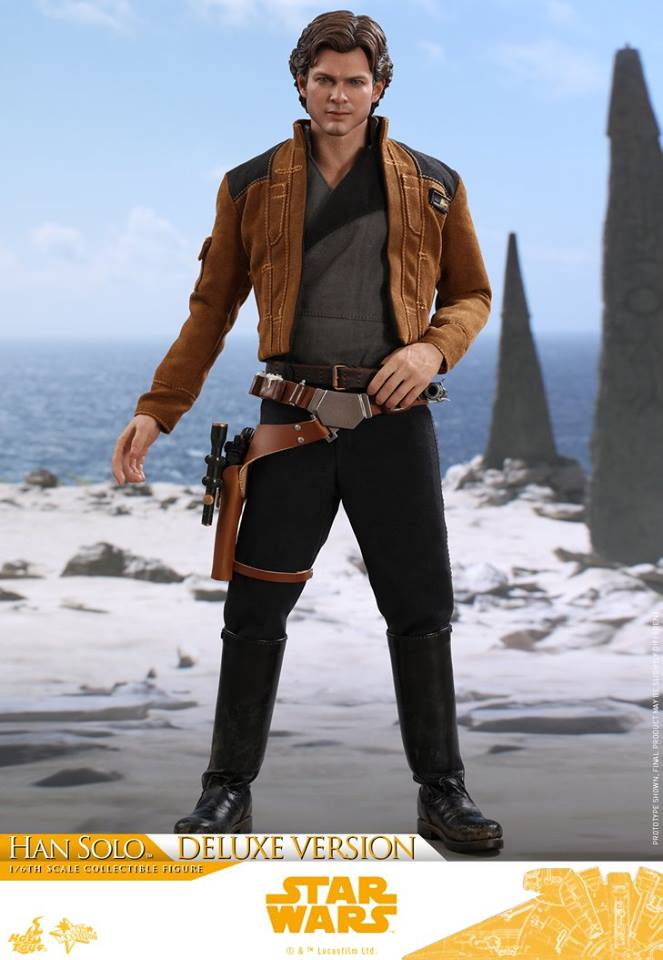 Hot Toys Solo: A SW Story 1/6th Scale Han Solo Deluxe  33380510