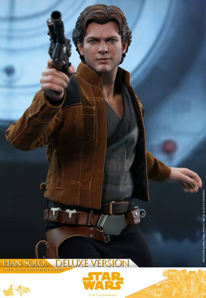Hot Toys Solo: A SW Story 1/6th Scale Han Solo Deluxe  33423410