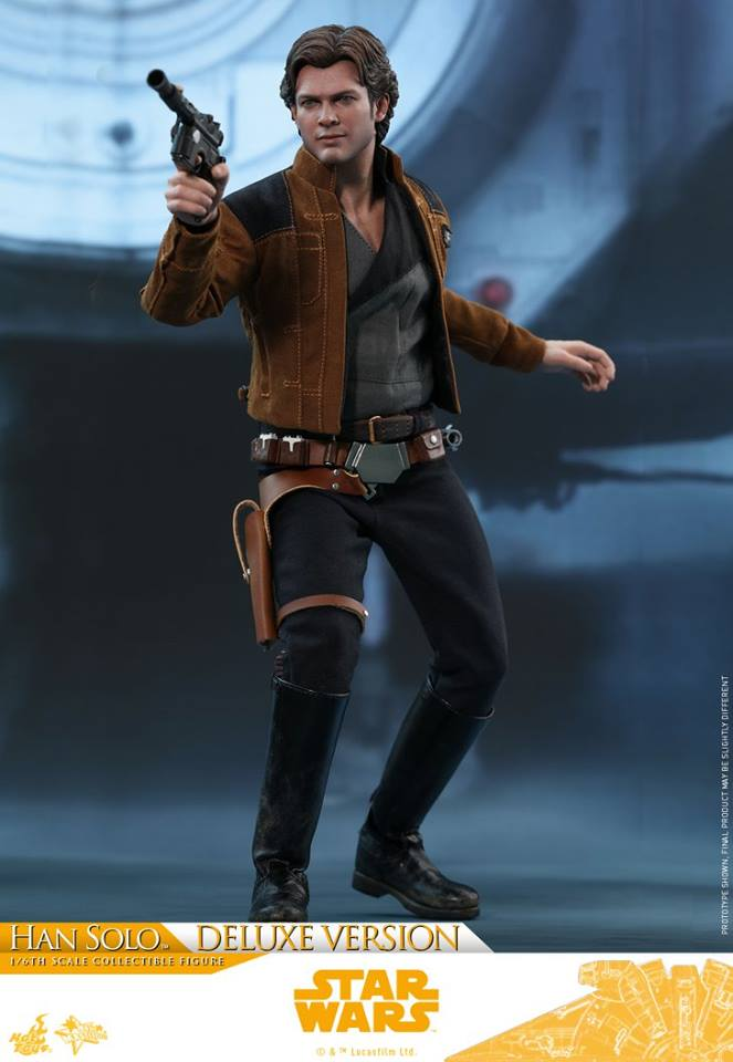 Hot Toys Solo: A SW Story 1/6th Scale Han Solo Deluxe  33442810