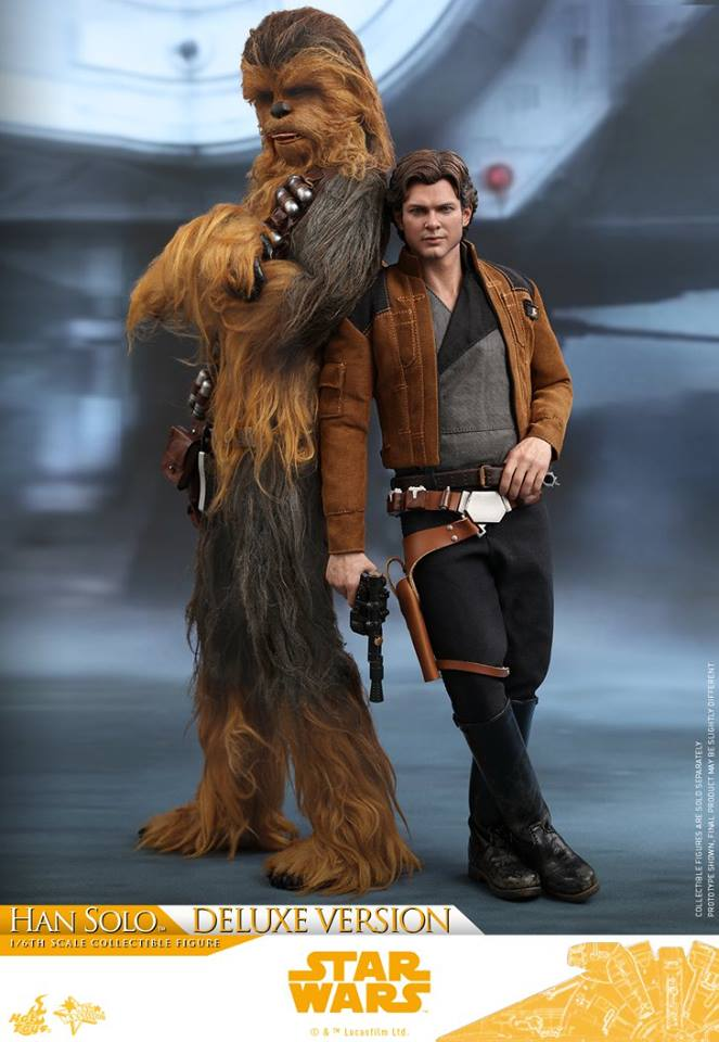 Hot Toys Solo: A SW Story 1/6th Scale Han Solo Deluxe  33491810