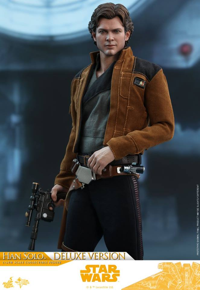 Hot Toys Solo: A SW Story 1/6th Scale Han Solo Deluxe  33501310