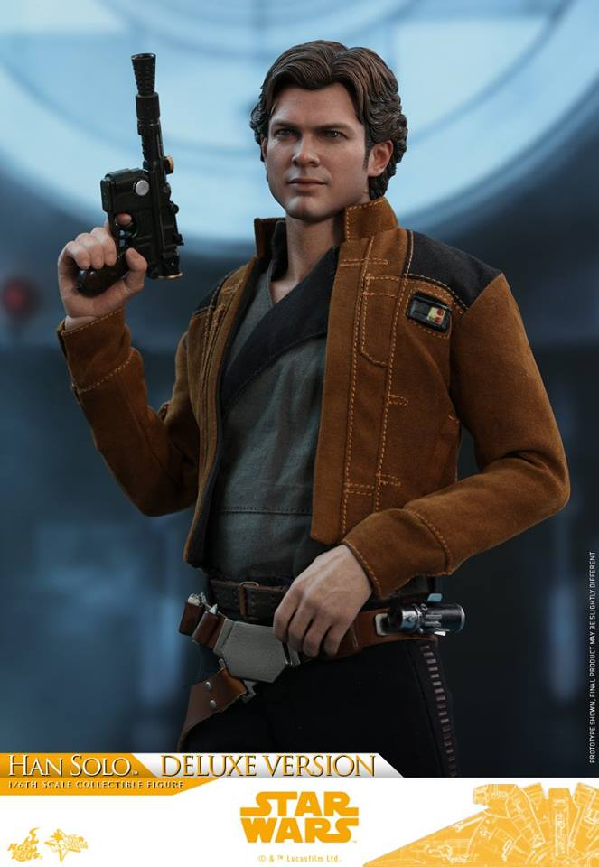 Hot Toys Solo: A SW Story 1/6th Scale Han Solo Deluxe  33501311