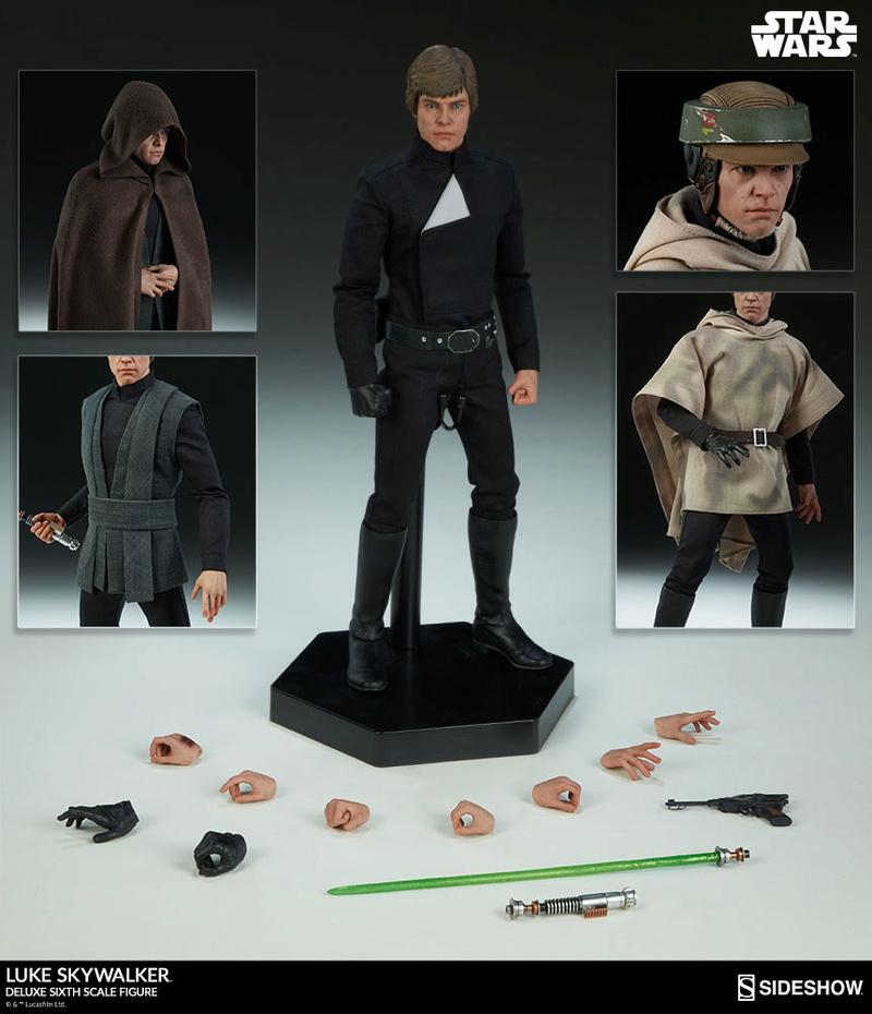 Sideshow Collectibles- Luke Skywalker ROTJ Deluxe 1/6 figure Press_11
