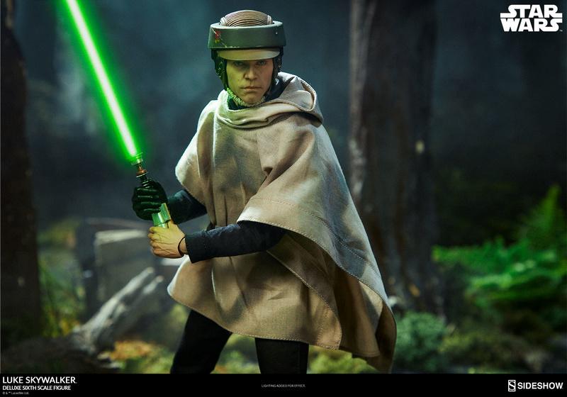 Sideshow Collectibles- Luke Skywalker ROTJ Deluxe 1/6 figure Press_12