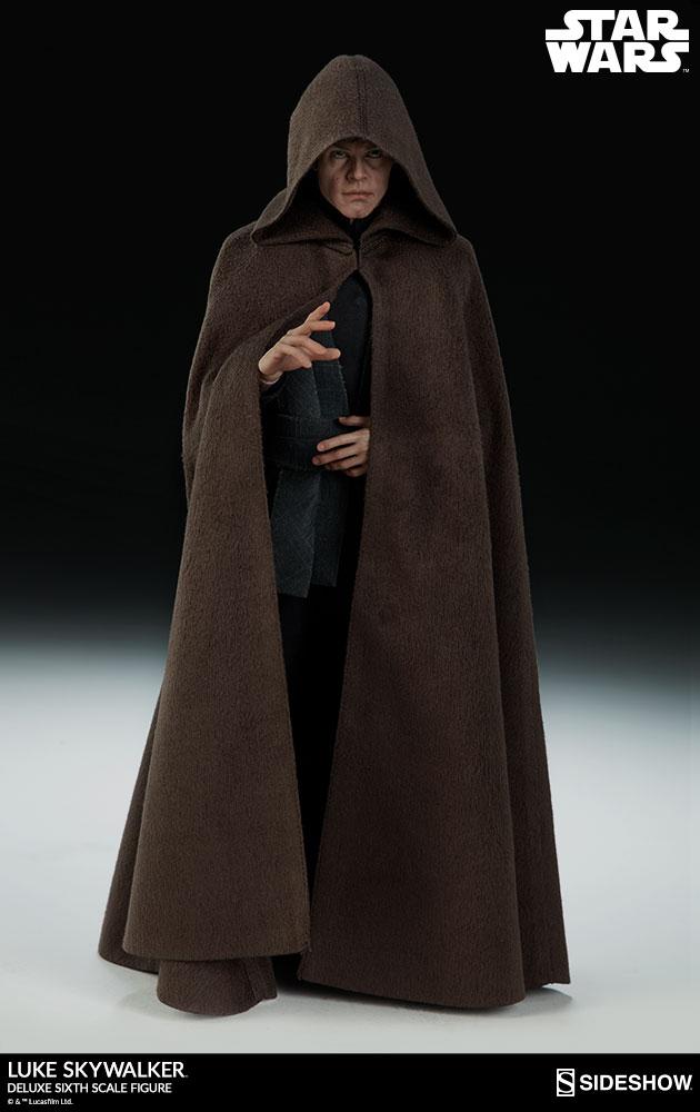 Sideshow Collectibles- Luke Skywalker ROTJ Deluxe 1/6 figure Star-w13