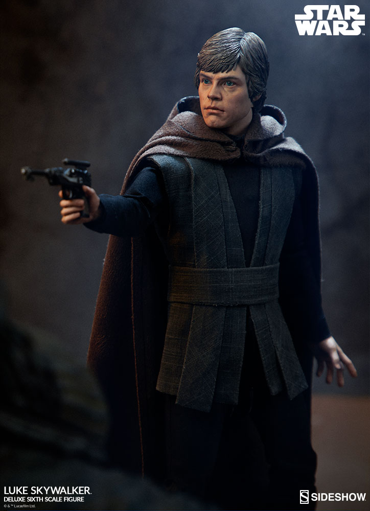 Sideshow Collectibles- Luke Skywalker ROTJ Deluxe 1/6 figure Star-w14