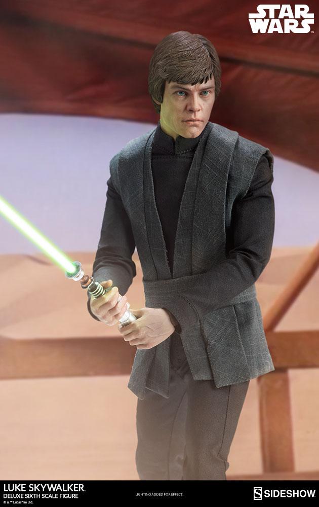 Sideshow Collectibles- Luke Skywalker ROTJ Deluxe 1/6 figure Star-w15