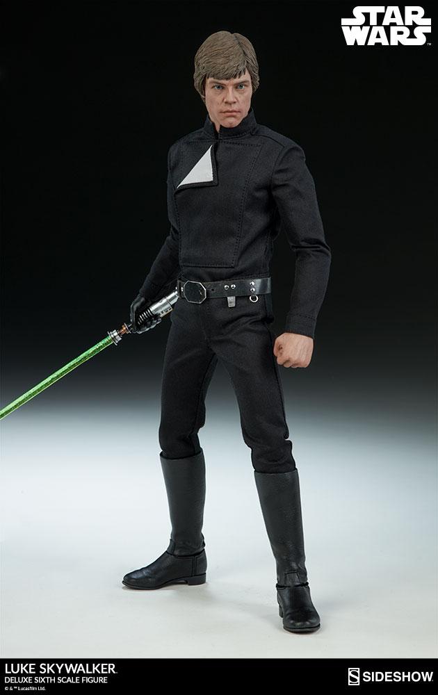 Sideshow Collectibles- Luke Skywalker ROTJ Deluxe 1/6 figure Star-w17