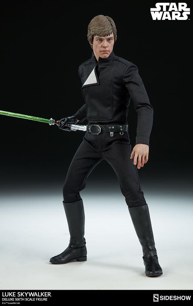 Sideshow Collectibles- Luke Skywalker ROTJ Deluxe 1/6 figure Star-w18