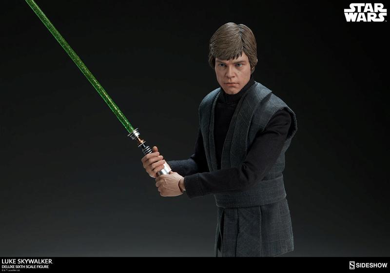 Sideshow Collectibles- Luke Skywalker ROTJ Deluxe 1/6 figure Star-w19