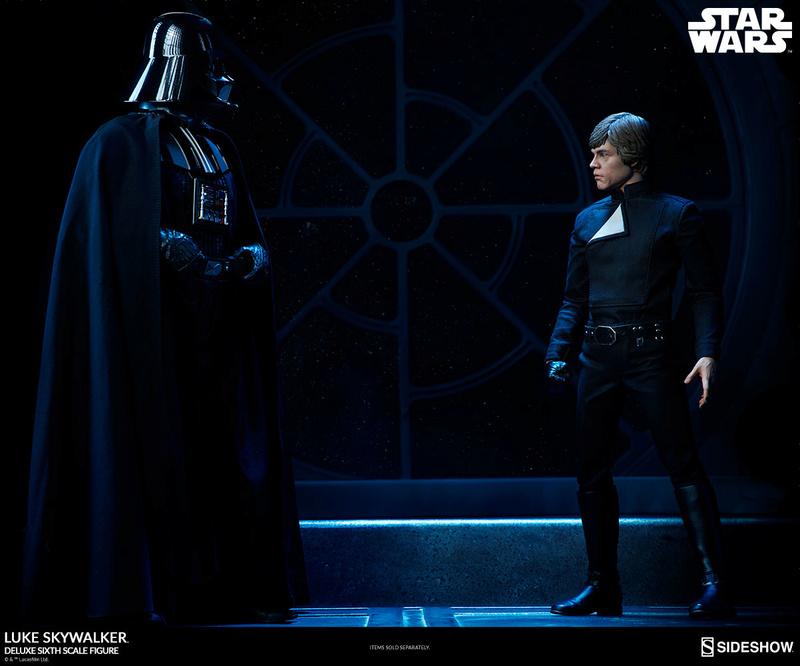 Sideshow Collectibles- Luke Skywalker ROTJ Deluxe 1/6 figure Star-w23