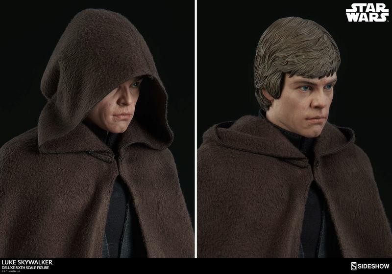 Sideshow Collectibles- Luke Skywalker ROTJ Deluxe 1/6 figure Star-w25