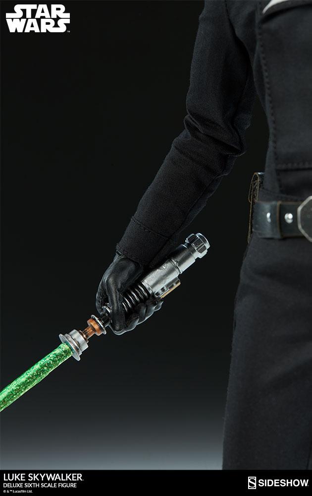 Sideshow Collectibles- Luke Skywalker ROTJ Deluxe 1/6 figure Star-w26