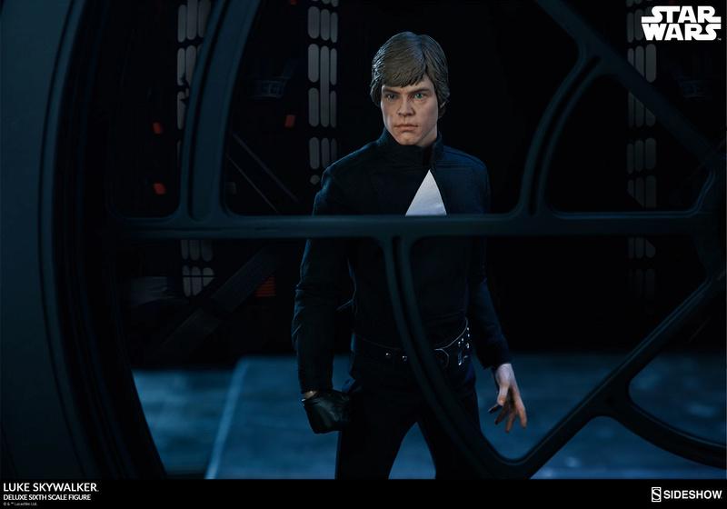 Sideshow Collectibles- Luke Skywalker ROTJ Deluxe 1/6 figure Star-w28
