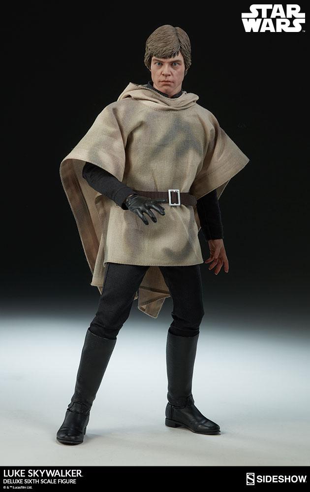 Sideshow Collectibles- Luke Skywalker ROTJ Deluxe 1/6 figure Star-w31