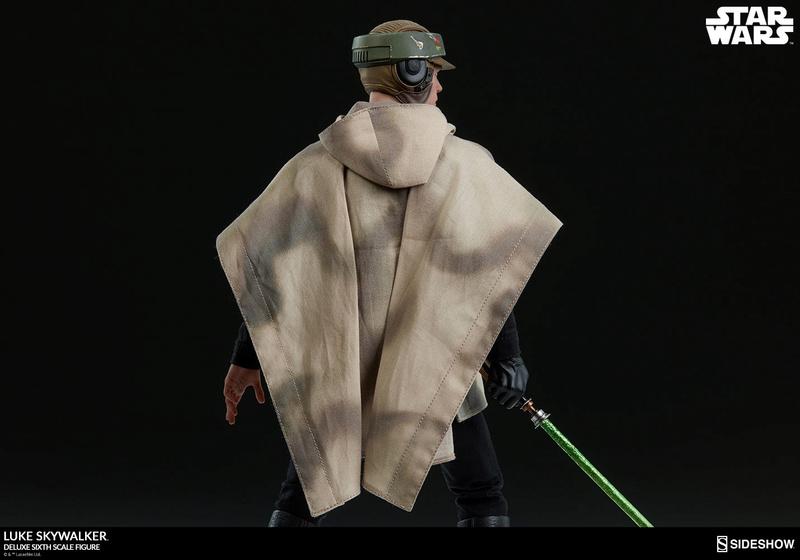 Sideshow Collectibles- Luke Skywalker ROTJ Deluxe 1/6 figure Star-w33