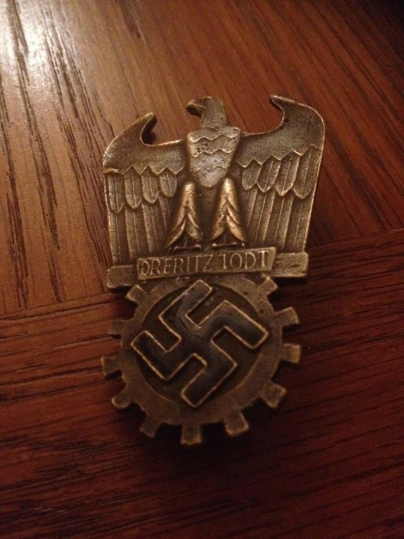 badge Dr Fritz Todt 23213211