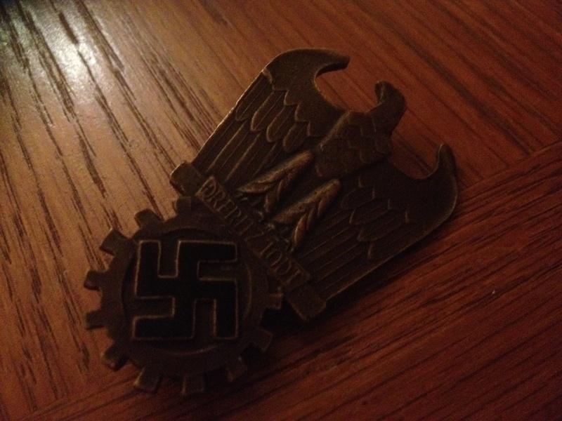 badge Dr Fritz Todt 23415510