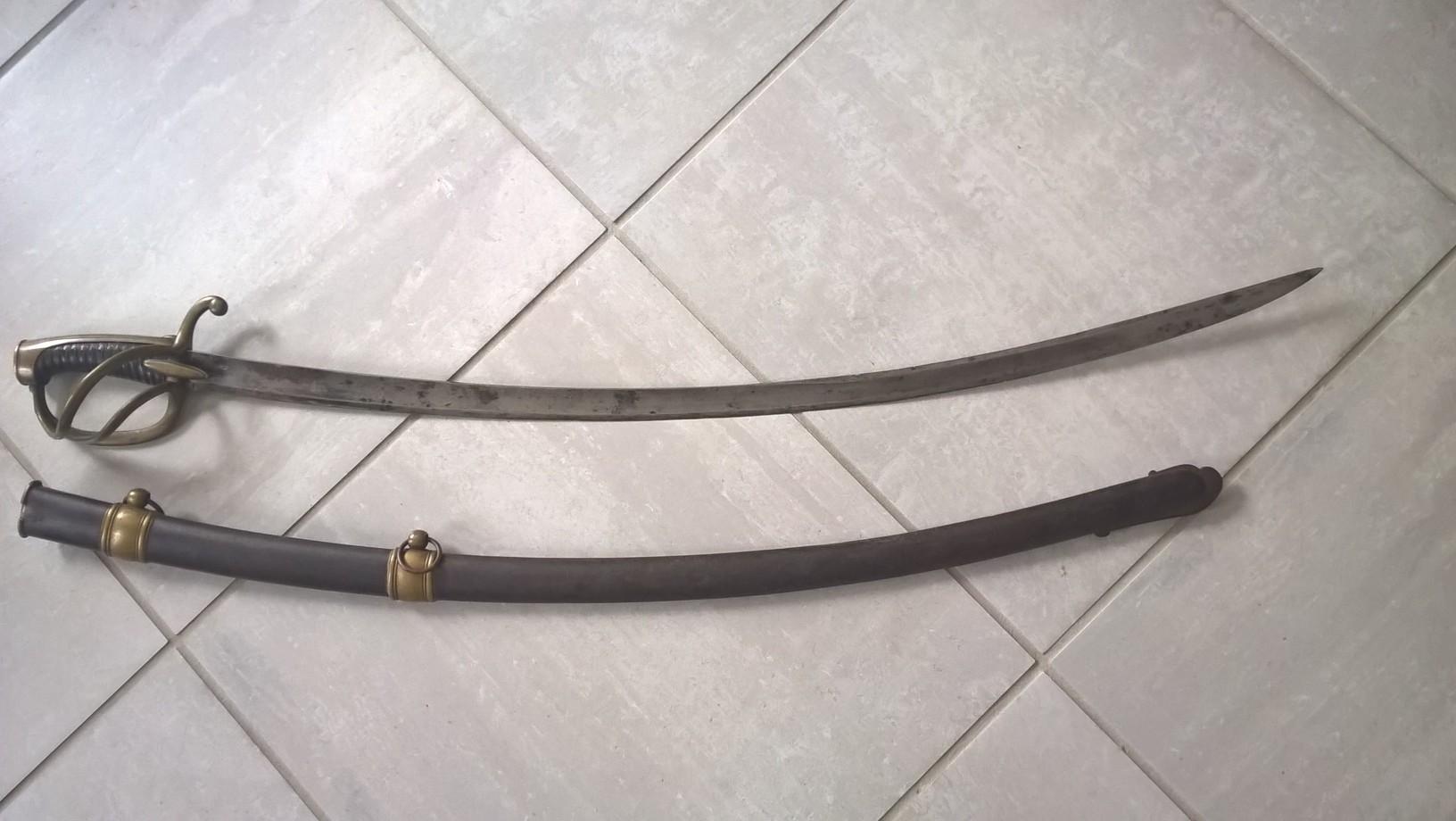 sabre chasseur à cheval  garde impérial Wp_20113