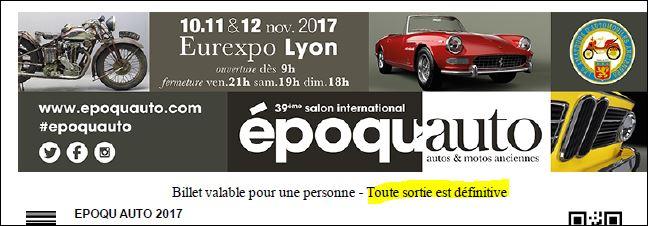 [10-11-12/ 11/2017 ] Epoqu'Auto 2017 Epoqau10